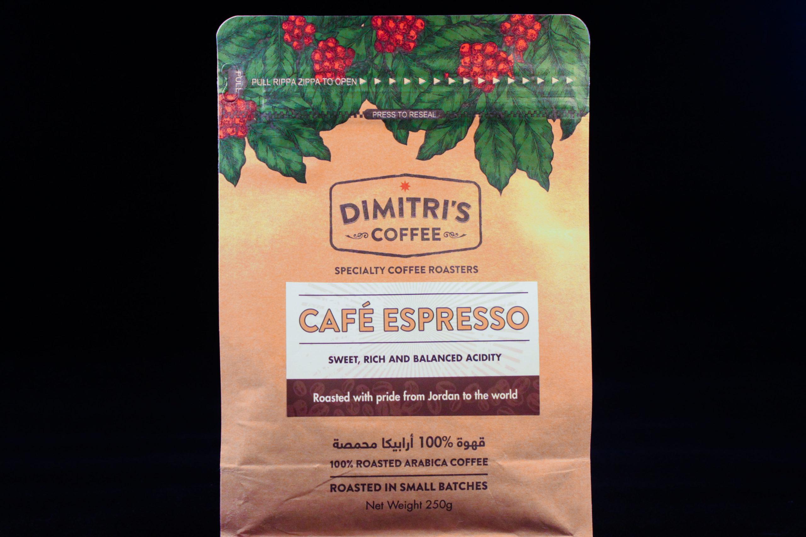 Cafe espresso coffee